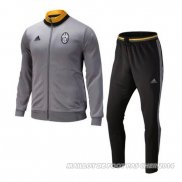 Ensemble Survetement Juventus 2016/2017 Gris