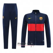Ensemble Survetement FC Barcelone 2019-2020 Bleu y Rouge