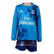 Maillot Real Madrid Third Enfant Manches Longues 2017-2018