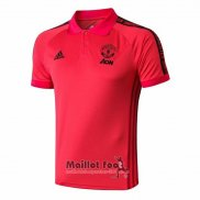 Polo Manchester United 2019-2020 Rouge