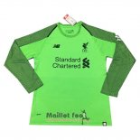 Maillot Liverpool Gardien Manches Longues 2018-2019 Vert