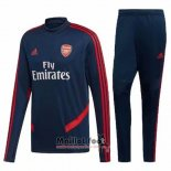 Ensemble Survetement Arsenal 2019-2020 Bleu
