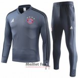 Ensemble Survetement Bayern Munich Enfant 2018-2019 Gris