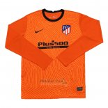 Maillot Atletico Madrid Gardien Manches Longues 2020-2021 Orange