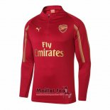 Sweat Arsenal 2018-2019 Rouge Y Or