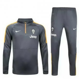Ensemble Survetement Juventus 2015/2016 Gris