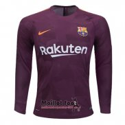 Maillot FC Barcelone Third Manches Longues 2017-2018