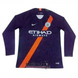 Maillot Manchester City Third Manches Longues 2018-2019