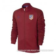 Veste Atletico Madrid 2016/2017 Rouge