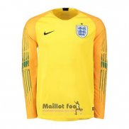 Maillot Angleterre Gardien Manches Longues 2018 Jaune