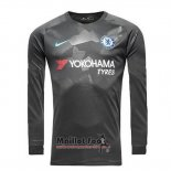 Maillot Chelsea Third Manches Longues 2017-2018