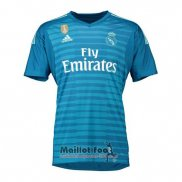 Thailande Maillot Real Madrid Gardien Exterieur 2018-2019