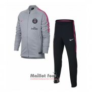 Ensemble Survetement Paris Saint-Germain 2018-2019 Gris
