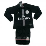 Maillot Paris Saint-Germain Third Enfant Manches Longues 2018-2019