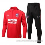 Sweat Atletico Madrid 2017/2018 Rouge