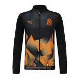Veste Olympique Marsella 2019-2020 Noir Y Orange