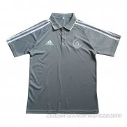 Maillot Polo Manchester United 2017 Gris