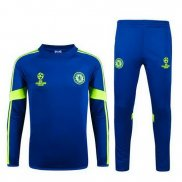 Ensemble Survetement Chelsea 2015/2016 Bleu