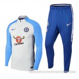 Sweat Chelsea 2017/2018 Bleu