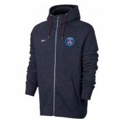 Capuche Paris Saint-Germain 2017/2018 Bleu