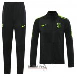 Ensemble Survetement Veste Atletico Madrid 2020-2021 Noir