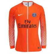 Maillot Paris Saint-germain Gardien 2017/2018 ML Naranja