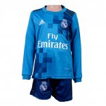 Maillot Real Madrid Third Enfant ML 2017/2018