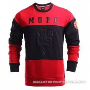 Sweat Manchester United 2016/2017 Rouge y Noir
