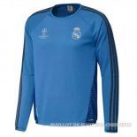 Hoodies Real Madrid 2015/2016 Bleu