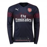 Maillot Arsenal Exterieur Manches Longues 2018-2019