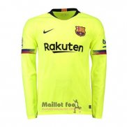 Maillot FC Barcelone Exterieur Manches Longues 2018-2019