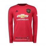 Maillot Manchester United Domicile Manches Longues 2019-2020