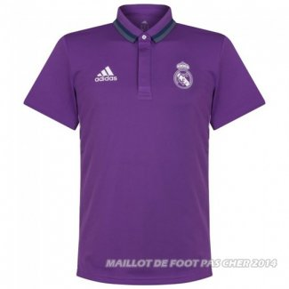 Maillot Polo Real Madrid 2017 Purpura