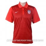 Maillot USA Polo 2016 Rouge