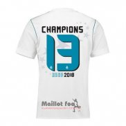 Maillot Real Madrid Champions 13 Domicile 2017-2018