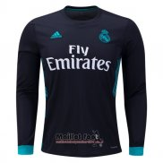 Maillot Real Madrid Exterieur Manches Longues 2017-2018