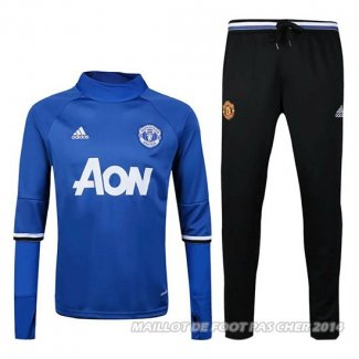 Ensemble Manchester United 2016/2017 Bleu