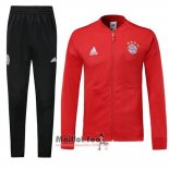 Ensemble Survetement Bayern Munich N98 2018-2019 Rouge