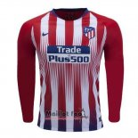 Maillot Atletico Madrid Domicile Manches Longues 2018-2019