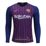 Maillot FC Barcelone Domicile Manches Longues 2018-2019