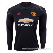 Maillot Manchester United Domicile Gardien 2016/2017 ML