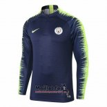 Sweat Manchester City 2018-2019 Bleu