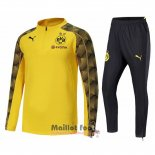Ensemble Survetement Borussia Dortmund 2018-2019 Jaune