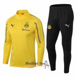Ensemble Survetement Borussia Dortmund Enfant 2018-2019 Jaune