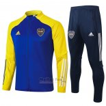 Ensemble Survetement Veste Boca Juniors 2020-2021 Bleu