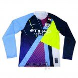 Maillot Manchester City Mash-Up Manches Longues 2019