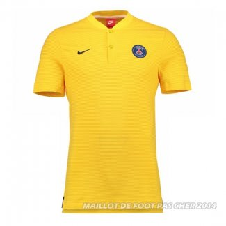 Maillot Polo del Paris Saint-Germain 2017/2018 Jaune