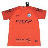 Thailande Maillot Manchester City Gardien 2018-2019 Orange