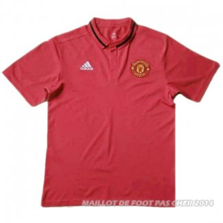 Maillot Manchester United Polo 2016/2017 Rouge