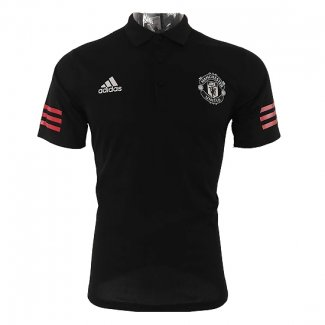 Maillot Polo del Manchester United 2017/2018 Noir